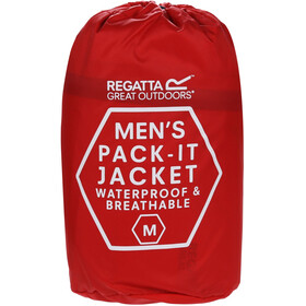Regatta Pack It III Jacket Men red